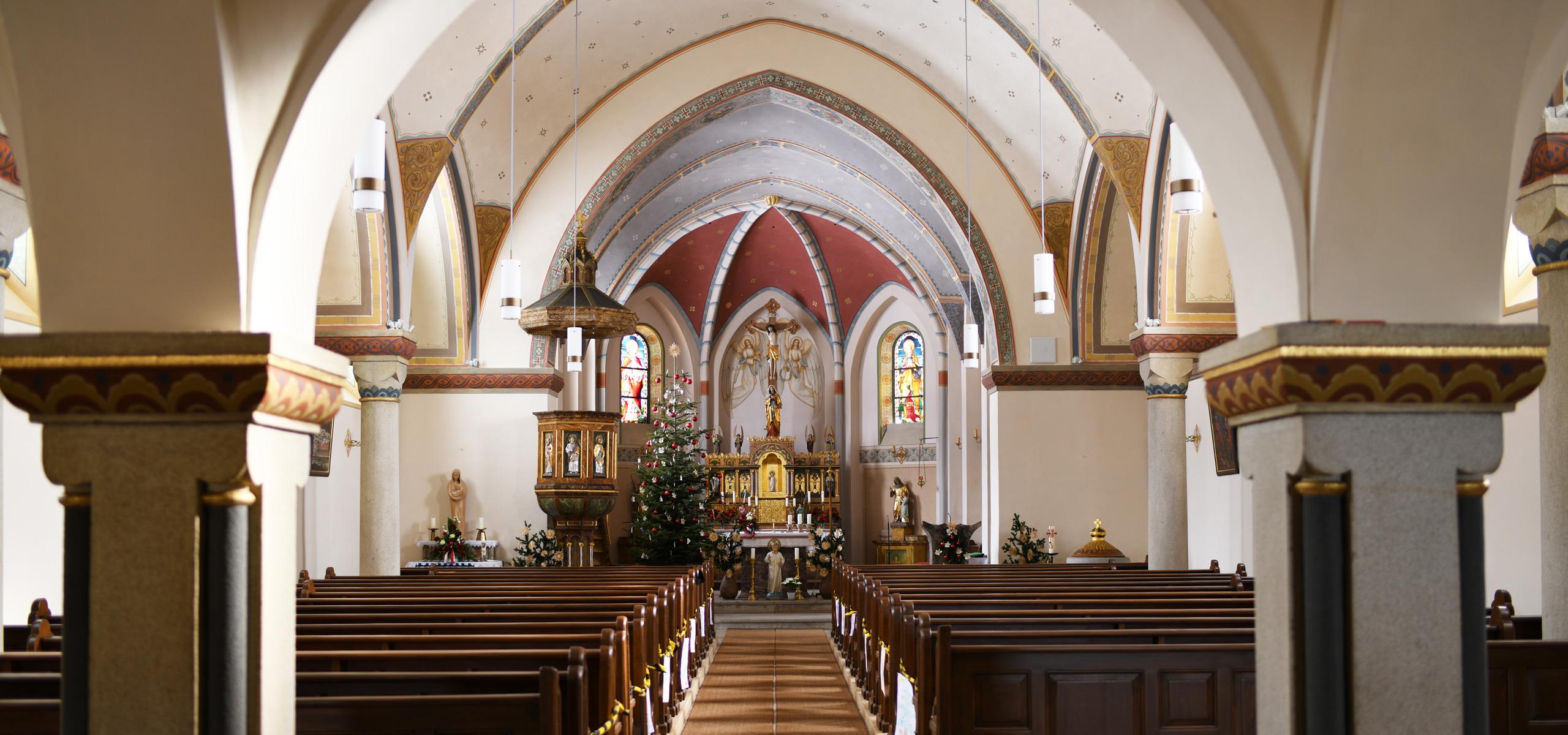 Innenrenovierung Pfarrkirche Wildenranna