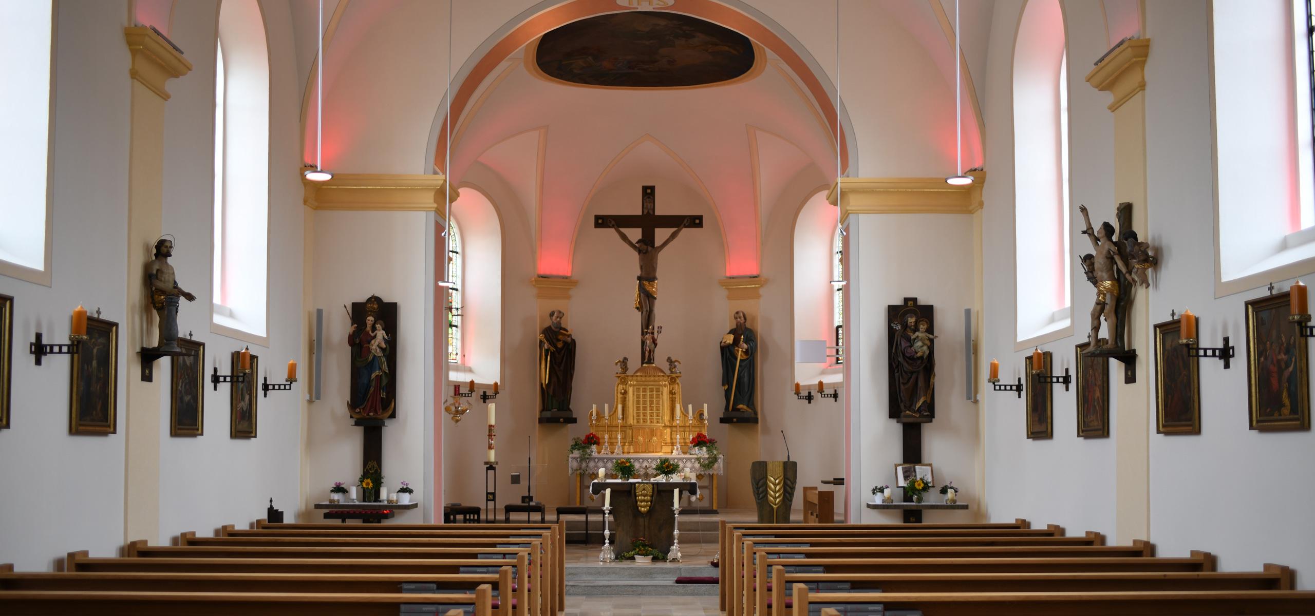 Innenrenovierung Pfarrkirche Neßlbach